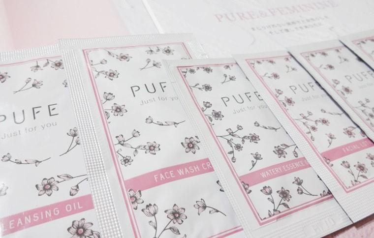 無添加化粧品 PUFE ピュフェのサンプル