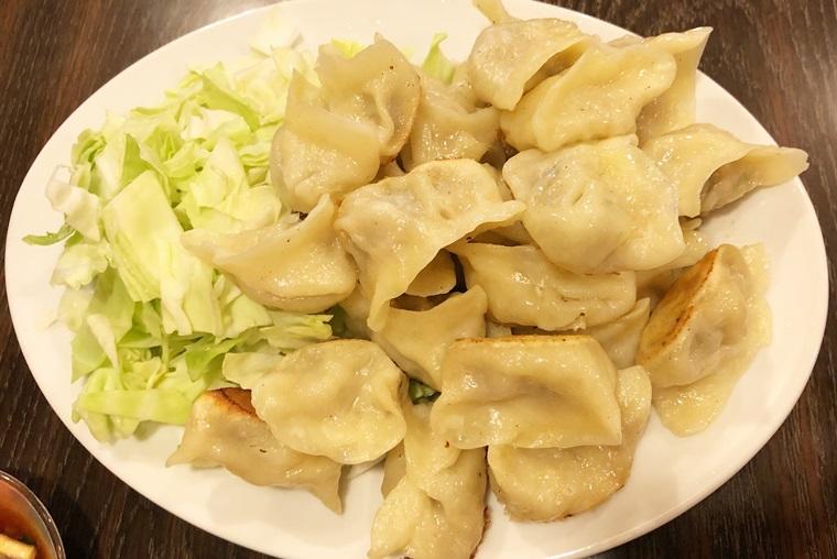 岐阜県岐阜市にある手作り餃子専門店ひょうたんの焼き餃子